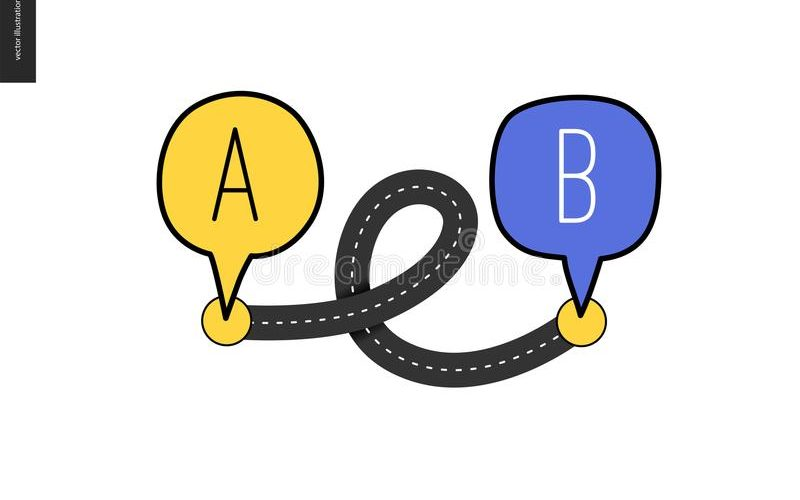 point-to-point-b-point-to-point-b-asphalt-road-loop-connecting-two-points-concept-math-transport-problem-113555805